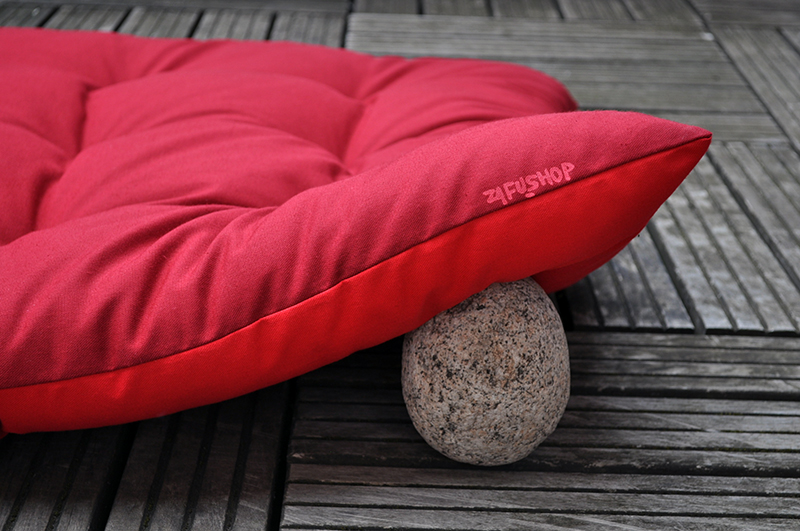 zafutons kapok zafuton 2 couleurs bordeaux rouge zafu shop. Black Bedroom Furniture Sets. Home Design Ideas
